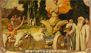 """""""Nerthus"""" by Emil Doepler (1905)"""