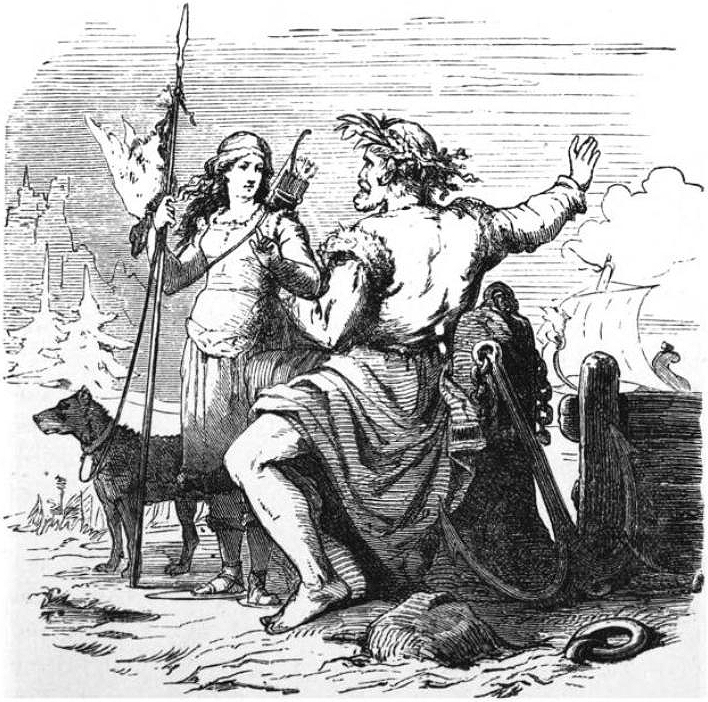 The Marriage of Njord and Skadi - Norse Mythology for ...