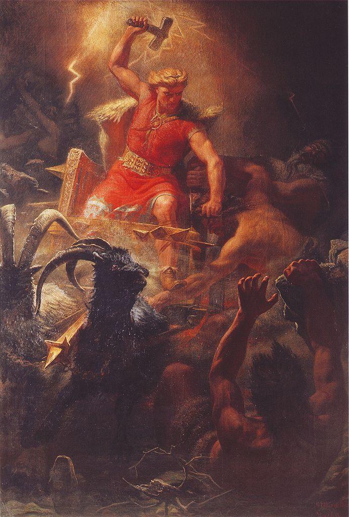 thor norse mythology for smart people