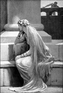 """Sif"" by John Charles Dollman (1909)"