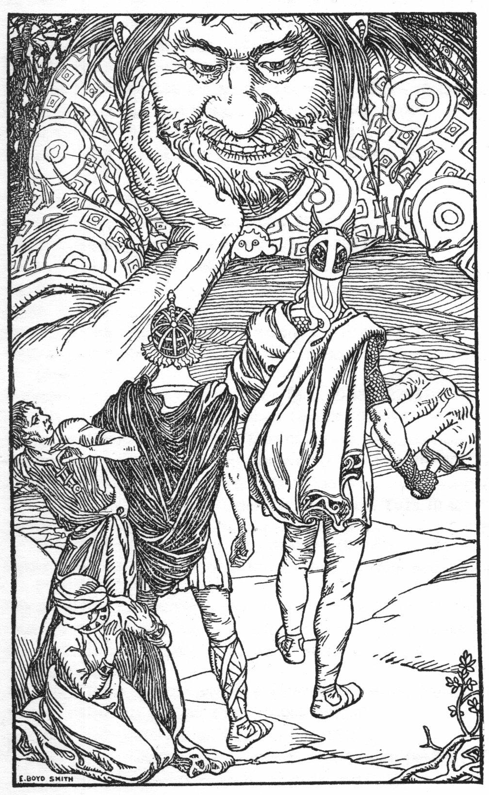 the tale of utgarda loki norse mythology for smart people